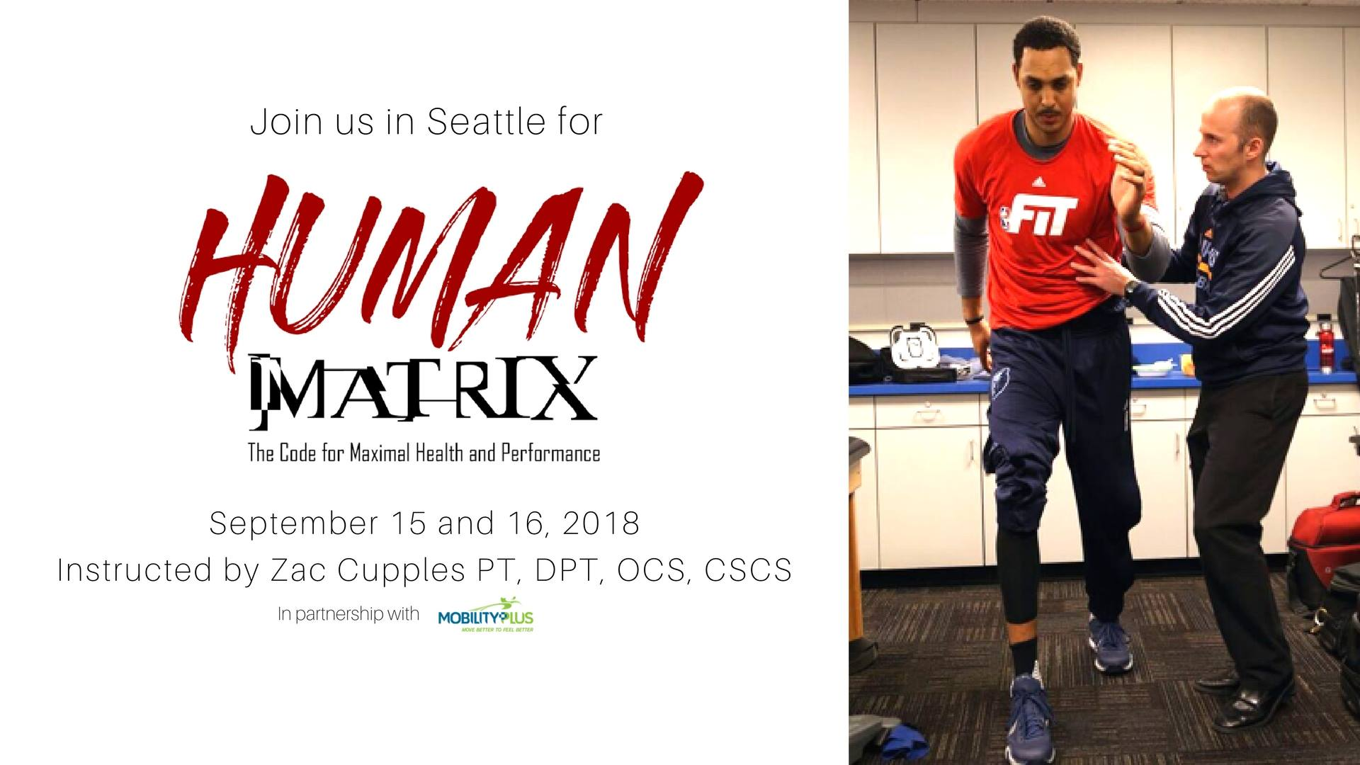 human matrix with Dr. Zac Cupples