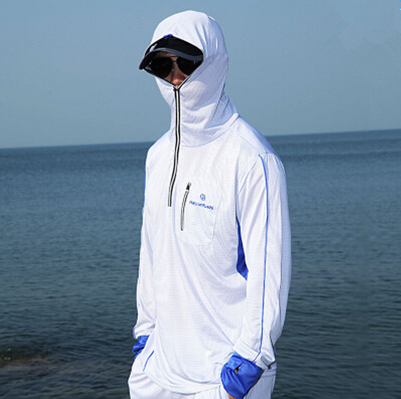 Fresh New-men-women-Brand-fishing-clothing-sun-protection-clothing-long  FP68