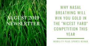 August 2019 Newsletter Graphic