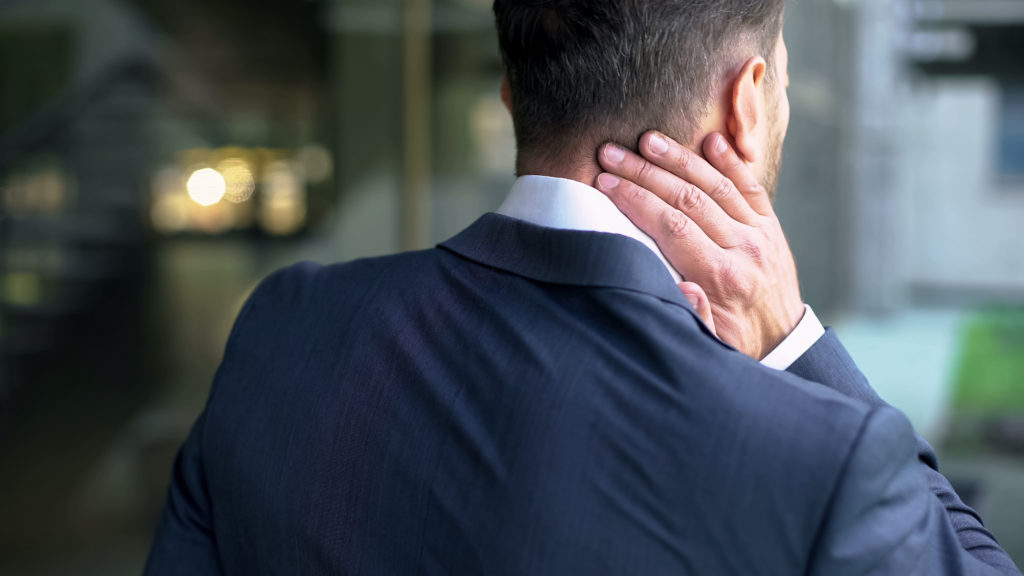 What is a pinched nerve & nerve impingement in the neck?